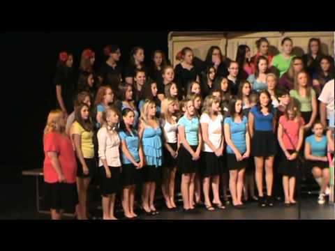 Instrument of Peace - FMS Choir Concert - Massed Choirs - Sarah Solo