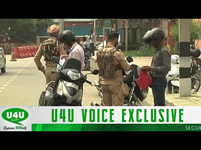 Security briefed up in Kashmir valley ahead of Independence day celebration