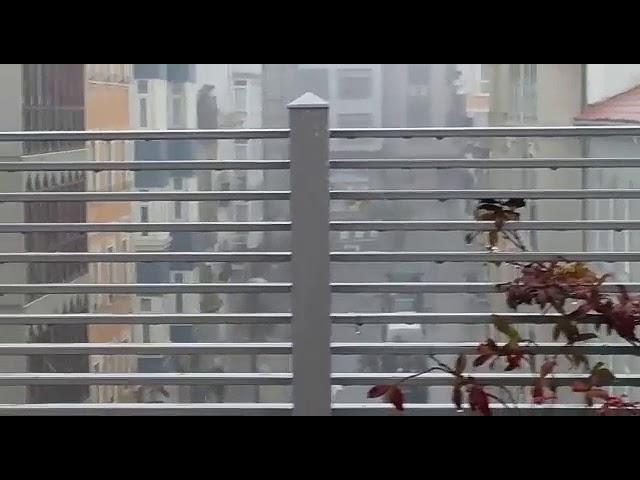 Ventos de ata 127 km/h en Cuntis e chuvias copiosas nun martes desapracible