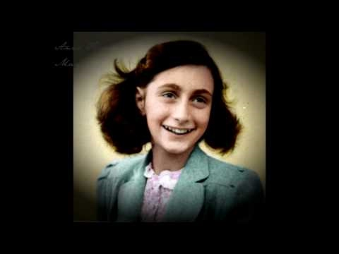 anne frank her life in colour youtube