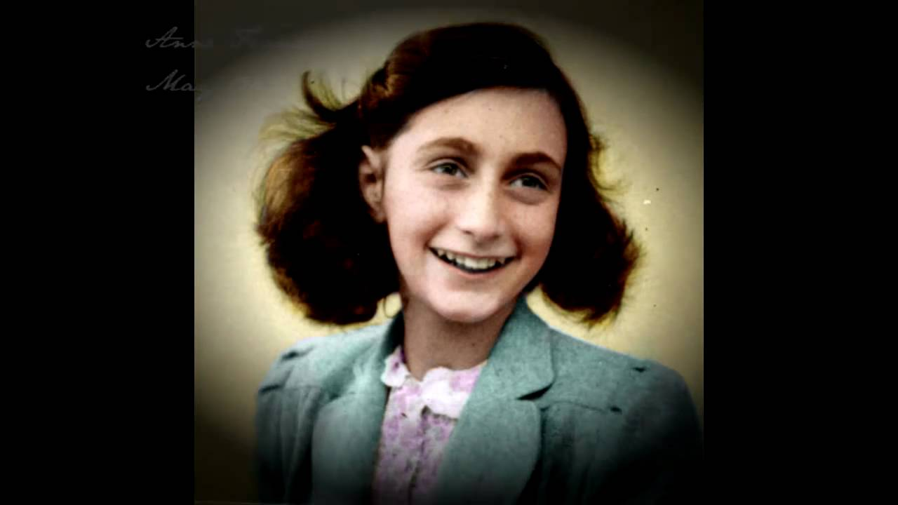 anne frank her life in colour youtube. Black Bedroom Furniture Sets. Home Design Ideas