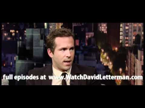 Ryan Reynolds in Late Show with David Letterman June 14, 2011