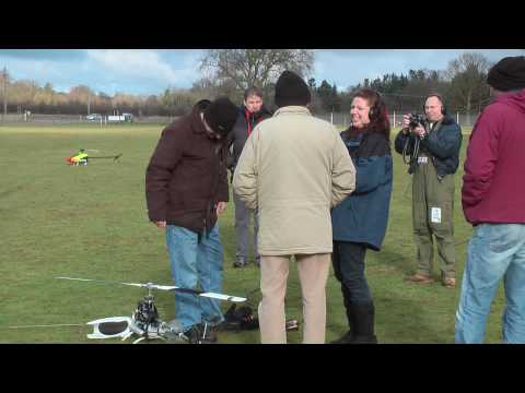 BBC Radio Norfolk Treasure quest @ Norfolk model helicopter club