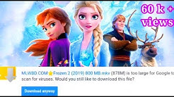 How to download frozen 2 full movie 720p HD.