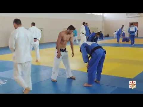 3-Man Judo Throws Training Drill with Georgian Judo Team