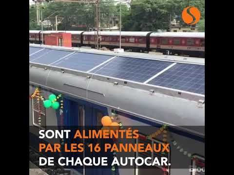 Indian Solar Trains