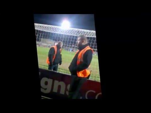 Morecambe V Portsmouth - Barry Roche Goal 94th Minute Equaliser!