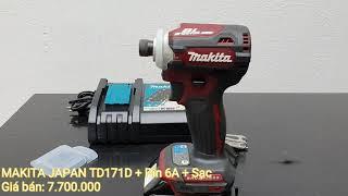 MAKITA JAPAN TD171D MÁY BẮT VÍT DÙNG PIN - 0823978258 SHOPTOOL