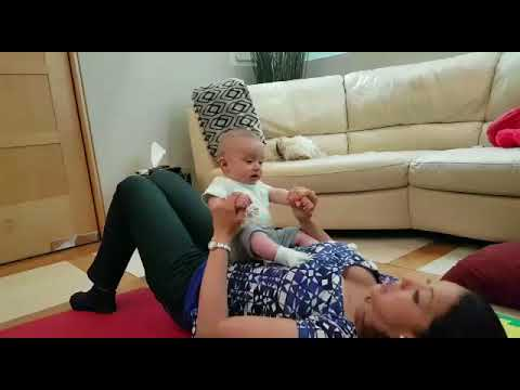 Active Baby Yoga For Older Babies And For Post Natal Period