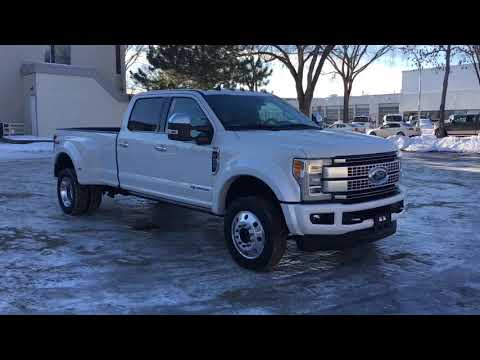 2019 Ford F-450 Platinum | Waterloo Ford Lincoln