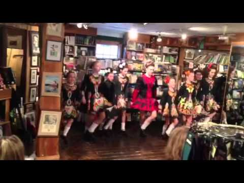 Emma Irish dancing