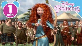 Brave | Merida's Amazing Archery Skills | Disney Princess #ADVERT