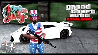 4TH OF JULY WEEKEND MASSACRE | GRAND THEFT AUTO V  (🔴 🎮 PS4 )