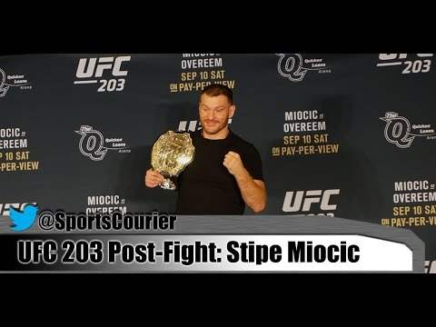 UFC 203: Stipe Miocic on Finishing Alistair Overeem, Fighting in Cleveland