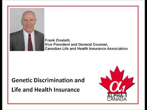 Drop-in Support Group Meeting 08 - Genetic Discrimination and Life and Health Insurance in Canada