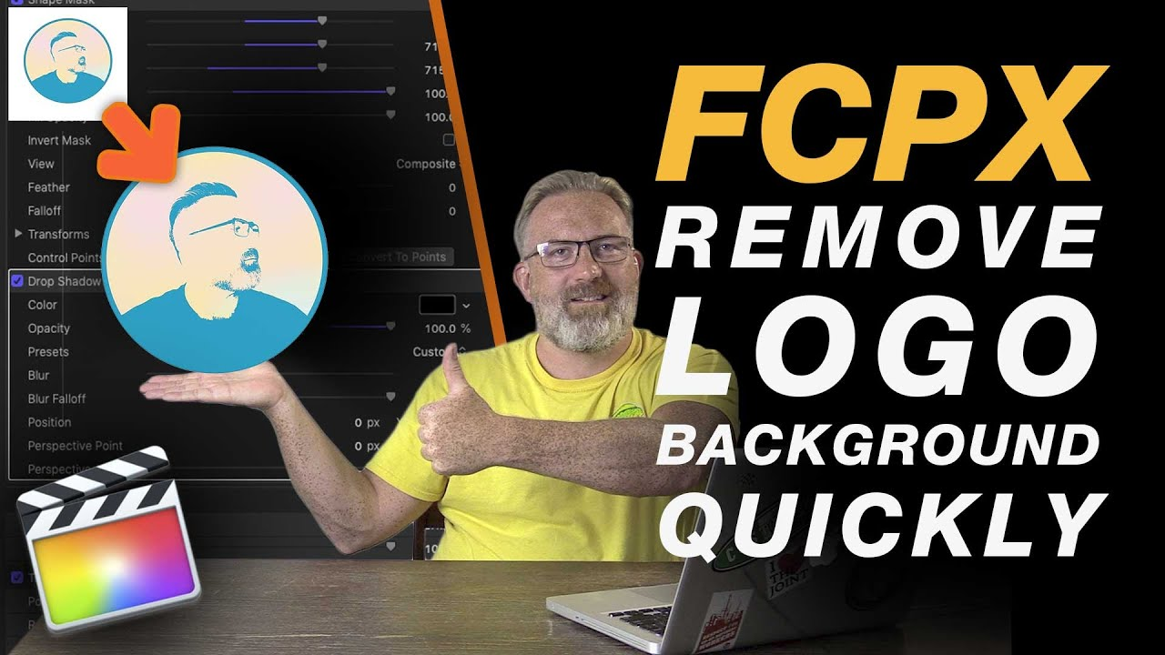 Final Cut Pro X Tutorial: Remove the Background From a Logo - 2 Methods -  No Plugins