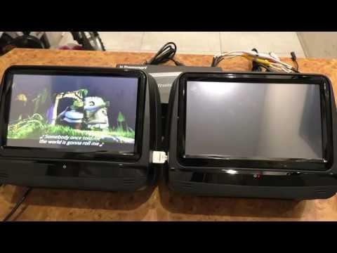 Xtrons HD929THD - своеобразные подголовники для автомобиля
