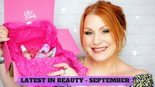 Latest In Beauty September Beauty Subscription Box Unboxing
