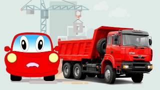 Мультик про  машинки, грузовики и трактора. Все серии подряд (сборник)