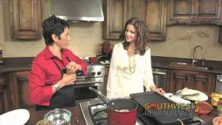 Southwwest Hot Chefs And Restaurants Tm, Cervantes Green Chile Stew Part 2
