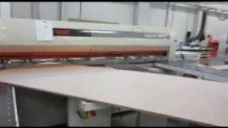 2003 Scm Sigma 105c Beamsaw - Scott & Sargeant Woodworking Machinery Ltd