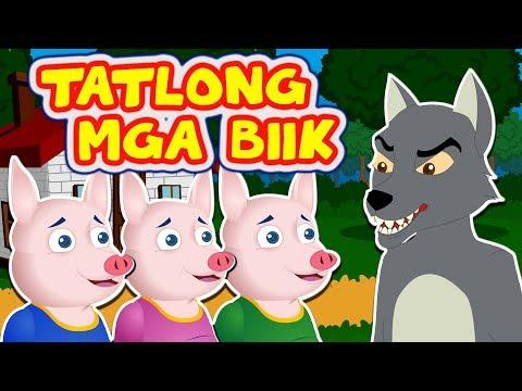 ANG TATLONG BIIK | Mga Kwentong Pambata | Filipino Moral Story Kids | Tagalog Fairy Tales