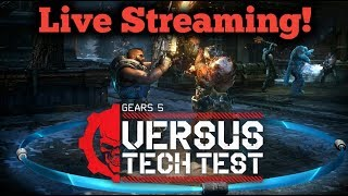 Gears 5 Tech Test!  Live Stream In The Rafcave!  Let's Play!
