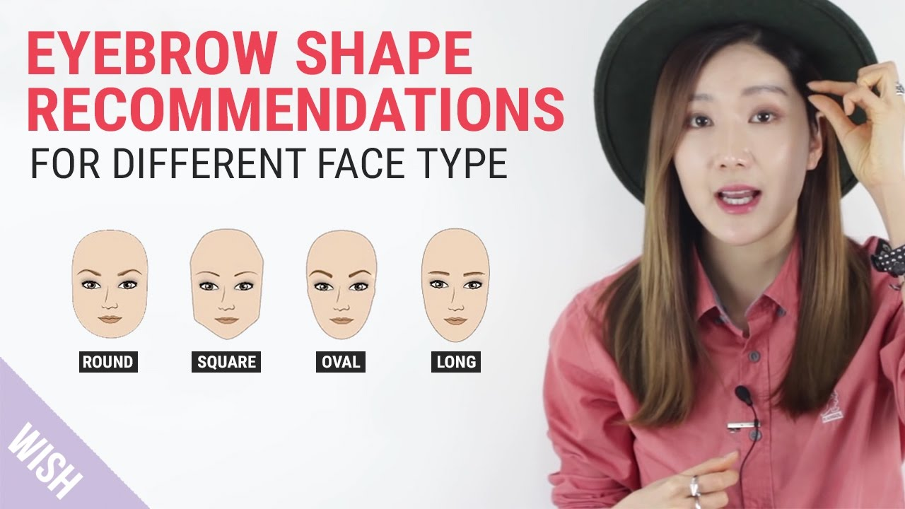Perfect Eyebrow Shapes For Your Face Wishtrend Tv Youtube