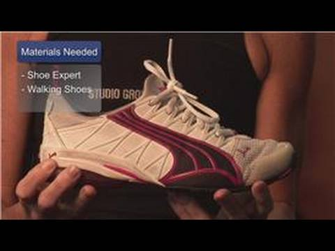 Fitness & Exercise  : How to Select Walking Shoes