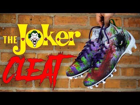CUSTOM CRAZY JOKER CLEATS | FULL