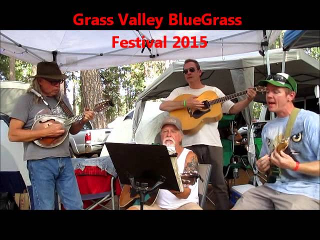Grass Valley Bluegrass Festival Jam 2015