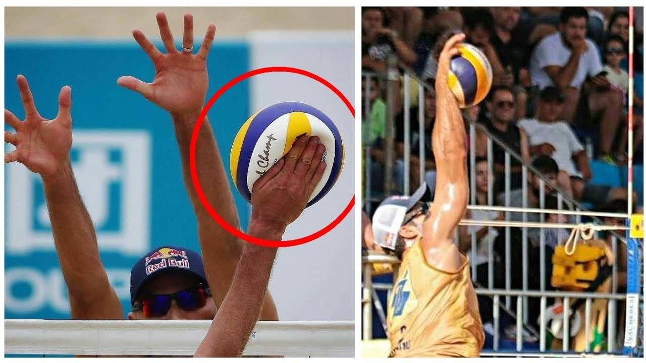 The Most Powerful Beach Volleyball Spikes Ever Hd Youtube