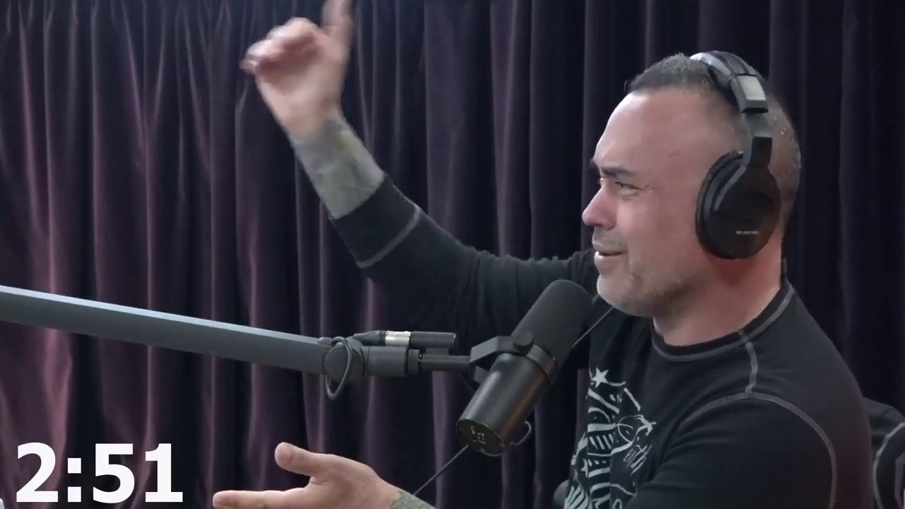 Eddie Bravo rants about zombies and lysol (JRE Fight Companion Clip)