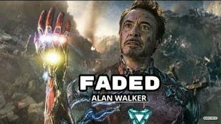 Avengers End Game || Alan Walker - Mashup (Faded, Alone,Tired)