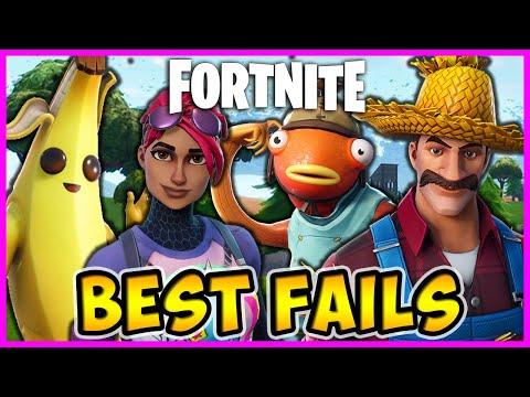 Fortnite – 😂 Funniest Fails, The Best Moments – ⛏️ Battle Royale