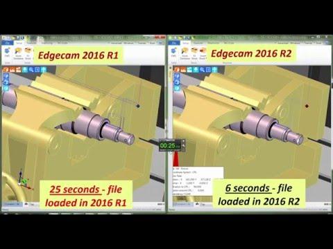 File Tessellation Benchmark | Edgecam 2016 R2