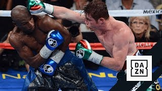 Canelo Alvarez vs. Floyd Mayweather Highlights