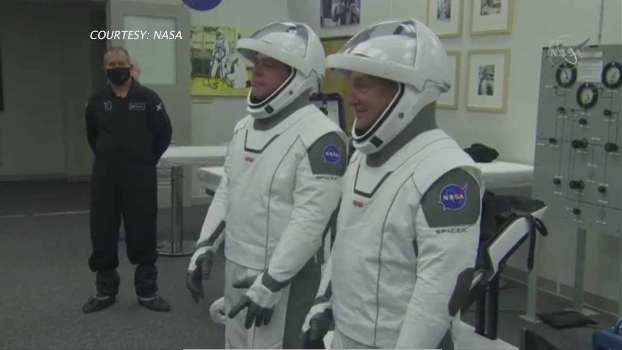 SpaceX mission launch postponed due to weather - FOX 2 St. Louis