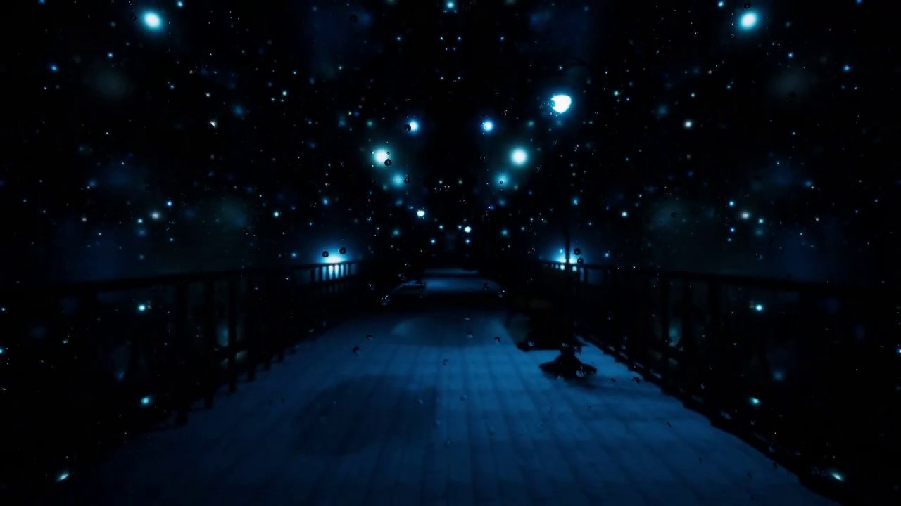 青街灯の通路-BlueLight Alley-
