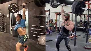 BODYBUILDER ATTEMPTS ONE HANDED CROSSFIT MOVEMENT! FAIL?!