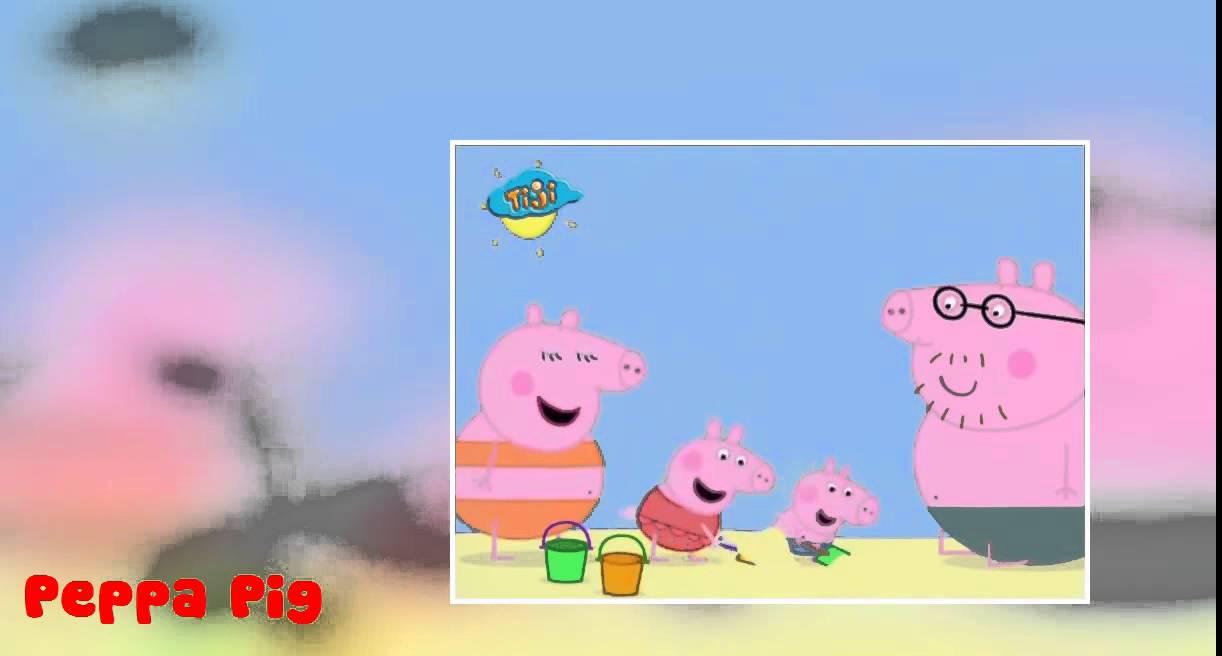 Peppa pig at the beach peppa pig a la plage peppa pig - Peppa cochon a la plage ...