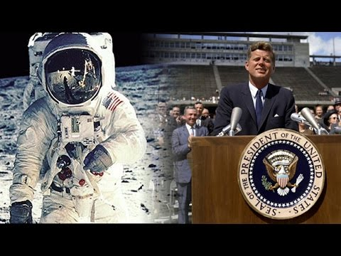 John F. Kennedy speech in the Apollo 11 experience