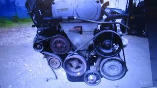 Обзор приводных ремней  - двигатель Toyota 4A-GE Silver Top