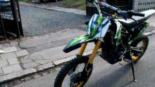 Ondajs-Pit bike 200cc