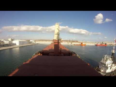 Entering Sfax