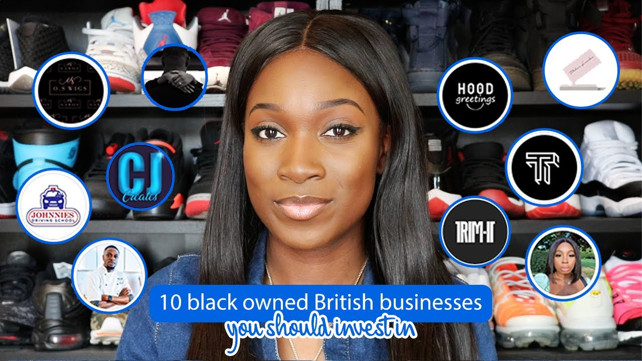 10 Black owned British businesses you should invest in! | Mins Pie