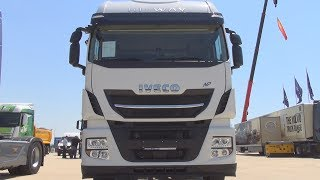 Iveco Stralis AS440S40T/P CNG NP Hi-WAY Tractor Truck (2017) Exterior and Interior