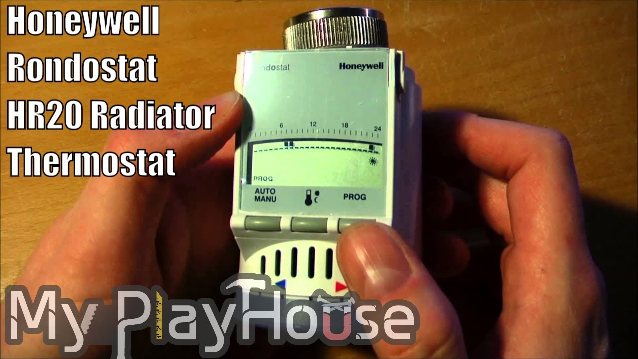 honeywell rondostat hr20 radiator thermostat part1 004 youtube. Black Bedroom Furniture Sets. Home Design Ideas