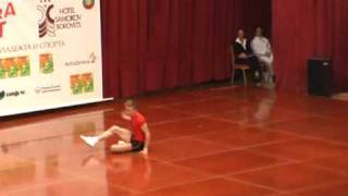 Shishigin Anton. IM. 5  place. Aerobic Gymnastics. World Cup 2009