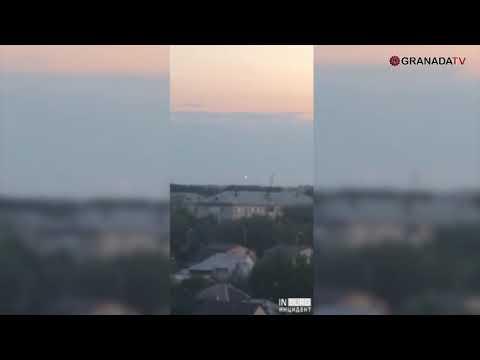 Челябинцы засняли на видео НЛО